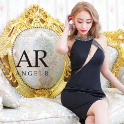 [バストカッティングビジュータイトニーレングスドレス]AngelR(エンジェルアール)|AR20830