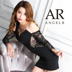 [アシンメトリーロングスリーブタイトミニドレス]AngelR(エンジェルアール)|AR21307