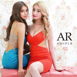 [バックビジュークロスデザインタイトミニドレス]AngelR(エンジェルアール) AR21325