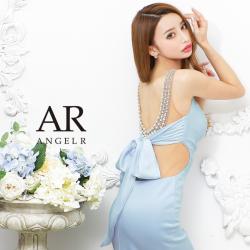 [バックパールビジューリボンタイトミニドレス]AngelR(エンジェルアール) AR21329