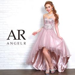 [ハートカットビジュー前ミニドレス]Angel R(エンジェルアール)|AR8616