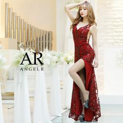[サイドシアースパンコールレースタイトロングドレス]Angel R(エンジェルアール)|AR8809