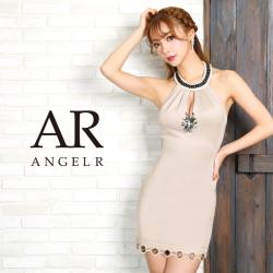 [リングホール裾スカートタイトミニドレス]AngelR(エンジェルアール)|AR9351