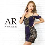 【予約】[オープンショルダーフリルスリーブタイトミニドレス]AngelR(エンジェルアール) AR20202【2月上旬~2月中旬頃より発送】