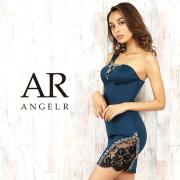 [レース&ビジューアシンメトリーワンショルダータイトミニドレス]AngelR(エンジェルアール)|AR20218