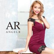 [レースカッティングビジュータイトミニドレス]AngelR(エンジェルアール) AR20233