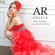 [葉月芽生コラボフロントミニロングドレス]AngelR(エンジェルアール) AR20236