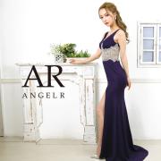 [ウエストビジューデザインタイトロングドレス]AngelR(エンジェルアール) AR20309