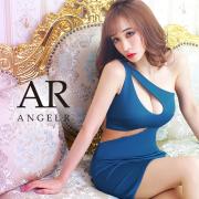 【予約/11月上旬~中旬頃より発送】[デザインワンショルダーカッティングタイトミニドレス]AngelR(エンジェルアール)|AR20338