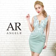 [フラワーレースサイドシアータイトミニドレス]AngelR(エンジェルアール)|AR20803