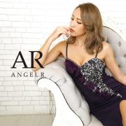 【予約(ダスティーピンク/S・M)(グリーン/S・M)(ホワイト/S・M)4月中旬から下旬より発送】[オーガンジーギャザービジュータイトミニドレス]AngelR(エンジェルアール)|AR20806