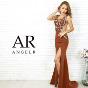 [フラワーレースサイドシアータイトロングドレス]AngelR(エンジェルアール)|AR20809