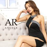 【予約(レッド/XS・S・M)9月中旬から下旬発送】[アシンメトリーカッティングビジュータイトミニドレス]AngelR(エンジェルアール)|AR20820