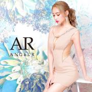[アシンメトリービジューカッティングタイトミニドレス]AngelR(エンジェルアール) AR20834
