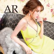 [バストメッシュビジューデザインタイトミニドレス]AngelR(エンジェルアール) AR21206