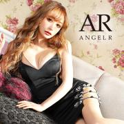 [バストラインビジューメッシュタイトミニドレス]AngelR(エンジェルアール) AR21207