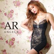 [バストレースビジューラインタイトミニドレス]AngelR(エンジェルアール) AR21208