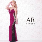 [サイドシースルーレースタイトロングドレス]AngelR(エンジェルアール)|AR21211