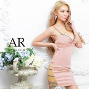 [フロントリボンサイドビジュータイトミニドレス]AngelR(エンジェルアール)|AR21214