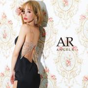 【予約/8月上旬から8月中旬より発送】[フロントダイヤカットビジューバックビジュータイトミニドレス]AngelR(エンジェルアール)|AR21223