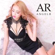 [デコルテショルダーレースタイトミニドレス]AngelR(エンジェルアール)|AR21314