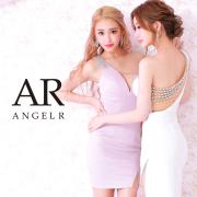 【予約/5月上旬から中旬より発送】[ワンショルダーバックデザインビジュータイトミニドレス]AngelR(エンジェルアール)|AR21316