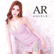 [ショルダーアシンメトリービジュータイトミニドレス]AngelR(エンジェルアール)|AR21317