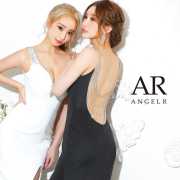 [アシンメトリーバックビジュータイトロングドレス]AngelR(エンジェルアール)|AR21324