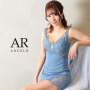 【予約/7月中旬から7月下旬より発送】[アッパーレースビジュータイトミニドレス]AngelR(エンジェルアール)|AR21327