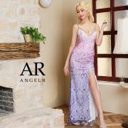 【予約/11月中旬から11月下旬より発送】[レースデザインビジュータイトロングドレス]AngelR(エンジェルアール) AR21350