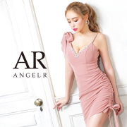 [リボンデザインアシンメトリータイトミニドレス]AngelR(エンジェルアール) AR21801