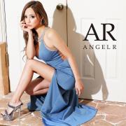 [デコルテビジューアシンメトリーロングドレス]AngelR(エンジェルアール)|AR21810