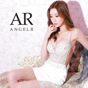 【予約/5月上旬から中旬より発送】[アッパーレース&ビジュータイトミニドレス]AngelR(エンジェルアール)|AR21814