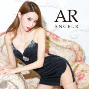 【予約/5月下旬から6月上旬より発送】[フロントダイヤビジュータイトミニドレス]AngelR(エンジェルアール)|AR21816