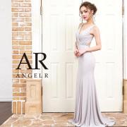 【予約】[ウエストビジュートップギャザーデザインタイトロングドレス]AngelR(エンジェルアール)|AR9210【4月上旬〜中旬頃より発送】