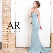 【予約】[アンティークゴールドビジュータイトロングドレス]AngelR(エンジェルアール)|AR9211【4月上旬〜中旬頃より発送】