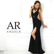 【予約】[チョーカー風デザインカットタイトロングドレス]AngelR(エンジェルアール)|AR9219【5月下旬〜6月上旬頃より発送】