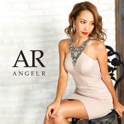 [デコルテVデザインビジュータイトタイトミニドレス]AngelR(エンジェルアール) AR9236