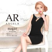【予約】[デコルテスリットサイドシアーパール&ビジュータイトミニドレス]AngelR(エンジェルアール)|AR9320【5月下旬〜6月上旬頃より発送】