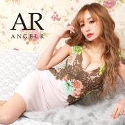 【予約】[シースルーカラーレースタイトミニドレス]AngelR(エンジェルアール)|AR9323【5月中旬〜5月下旬頃より発送】