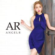 [ネックリボンクロススカートタイトミニドレス]AngelR(エンジェルアール) AR9347