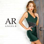 【予約】[ウエスト切替えビジューデザインタイトミニドレス]AngelR(エンジェルアール)|AR9349【11月中旬~下旬頃より発送】