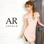 [ラメツイードオフショルダータイトミニドレス]AngelR(エンジェルアール) AR9352