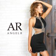 【予約(ホワイト/S)(ブラック/S)(レッド/S)(ピンク/S)2月下旬から3月上旬より発送】[ラグジュアリービジューデザインタイトミニドレス]AngelR(エンジェルアール) AR9353