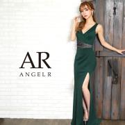 【予約】[ウエスト切替えビジューデザインタイトロングドレス]AngelR(エンジェルアール)|AR9354【11月中旬~下旬頃より発送】