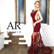 [フラワーレーススカート切替えロングドレス]AngelR(エンジェルアール) AR9355