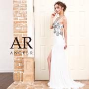 【予約】[深Vカットストレッチタイトロングドレス]AngelR(エンジェルアール)|AR9403【4月上旬〜中旬頃より発送】