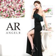 [レースフリルワンショルダータイトロングドレス]AngelR(エンジェルアール)|AR9816