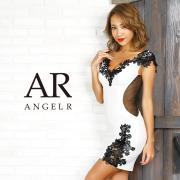 [フラワーレースデザインタイトミニドレス]AngelR(エンジェルアール) AR9828