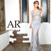 [フラワーレースデザインタイトロングドレス]AngelR(エンジェルアール)|AR9834
